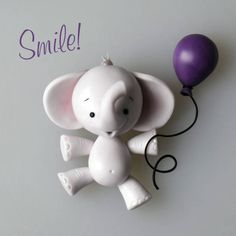 Cute little elephant tutorial - CakesDecor