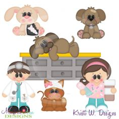 When I Grow Up~Veterianrian SVG Cutting Files+Clipart