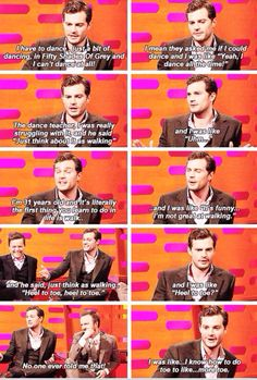 The Graham Norton Show    I love this story and I love that he can laugh at himself...doesnt take himself too serious