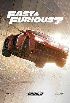 Fast and Furious 7 - Lykan Hypersport car jump