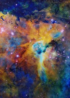 Hubble Space Telescope The Keyhole Nebula--what a wonderful universe! Formation Photo, Star Formation, Hubble Space Telescope, Space And Astronomy, Astronomy Stars, Nasa Space, Carl Sagan Cosmos, You Are My Moon, Across The Universe