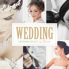 HOW TO CREATE AMAZING WEDDING IMAGES: This Beart Lightroom Presets Collection was designed to enhance your wedding and fashion photography and speed up your workflow