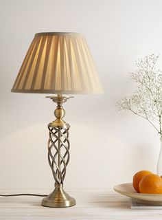 Torchiere Table Lamp - BHS Bright Floor Lamp, Floor Lamp Shades, Table Lamp Shades, Floor Lamps, Sconce Lighting, Home Lighting, Replacement Glass Lamp Shades, Lampshade Redo, Bronze Floor Lamp