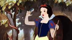 """Many of the ink and paint artists at the Disney studio were women (because that was one of the few jobs they were allowed to do at the time), and so to give Snow White a more natural look they began applying their own rouge on her cheeks. Walt Disney once asked one how they applied the rouge correctly for each cell, their reply was, """"What do you think we've been doing all our lives?"""""""