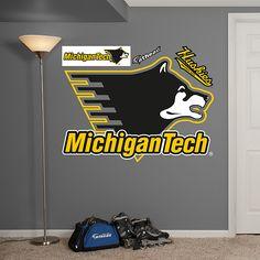 Michigan Tech Huskies Logo