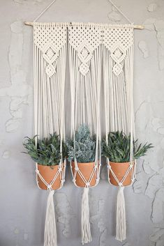 Excited to share this item from my shop: Macrame Wall Hanging Planter, Custom Macrame Plant Hanger, Fiber Plant Holder Wall Plant Hanger, Hanging Plant Wall, Macrame Wall Hanging Diy, Macrame Plant Holder, Plant Holders, Macrame Plant Hanger Patterns, Macrame Plant Hangers, Macrame Patterns, Driftwood Macrame
