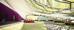 Emotioning Topography: A Solar Parking Canopy