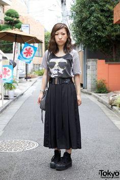 Che t-shirt & Nomine skirt