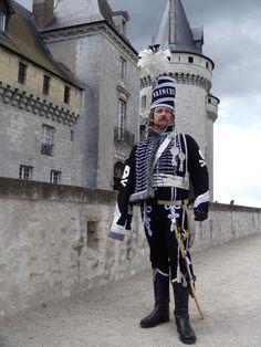 """Lieutenant of French"""",hussars de la mort""""."""