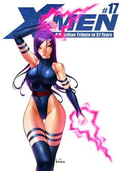 astonishingx:  X-MEN: A Brazilian Tribute to 51 Years Psylocke...