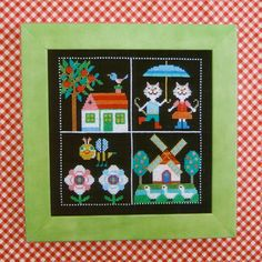 Shop   Category: Embroidery & Cross Stitch   Product: Gera Cross Stitch - Our Colorful World