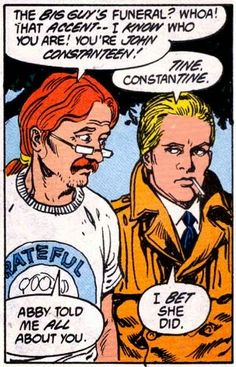 Get To Know John Constantine....
