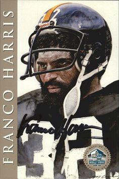 1998 Ron Mix HOF Platinum AutographsNNO Franco Harris Steelers  /2500 O11146 in Sports Mem, Cards & Fan Shop, Cards, Football   eBay