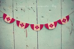 Create a simple Canada Day Bunting using supplies you have on hand - twine, book pages and colored card stock! Canada Day Crafts, Canada Day Party, Canada Holiday, Seasonal Celebration, Happy Canada Day, Craft Day, Favorite Holiday, Independence Day, Crafts For Kids