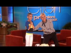 Remembering Talia... Published on Jul 18, 2013 Today's show is in honor of Talia, the incredible 13-year-old makeup artist who inspired us all. Here are a few of the moments we'd like to remember her by. Everyone at the Ellen DeGeneres Show continues to send their love and support to her family.