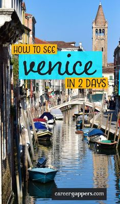 This Venice itinerary details how you can see all of the city's highlights in just 48 hours, with plenty of time built in for rests, food and drink. Places To Travel, Travel Destinations, Places To Visit, Venice City, Venice Food, Gondola Venice, Carnival Venice, Venice Canals, Venice Beach