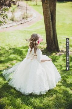 flower girl dress by Little Dreamers Tutu | CHECK OUT MORE IDEAS AT WEDDINGPINS.NET | #weddings #flowergirls #ringbearers