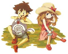 Beautiful ♡ Little Amourshipping ^.^ ♡ I give good credit to whoever made this
