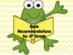 Fabulous 4th Grade Froggies: Books, books, & more books for 4th Grade! I know I teach 3rd but...if nothing else they would make good read alouds!