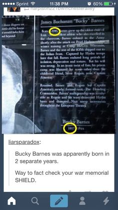 Whoops. But check this out: according to the file, Bucky had three younger siblings! I love that!