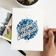 Kindness is contagious by June Digan