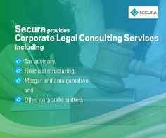 #Secura #CorporateLegalConsultingServices