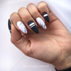 50 stunning acrylic nails inspiration - Page 36 of 50 - Rubyrui Best Acrylic Nails, Acrylic Nail Designs, Funky Nail Designs, Swag Nails, My Nails, Matte White Nails, Nagellack Design, Fire Nails, Dream Nails