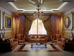 Arabic Living Rooms Decor Inspiration - Freshnist Design