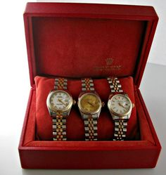 Ladies Gold President Rolex – Diamond Dial and Bezel – Box and Papers Rolex Logo, Gold Rolex, Galway Ireland, Gold Crown, Vintage Diamond, Luxury Watches, Unique Vintage, 18k Gold, Engagement