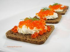 Salmon Roe Crackers. I know not many people like roe, but it is one of the healthiest things you can eat! Up to 4 times as much Omega 3 as fish meat. So good too...