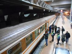 Tren de los Ochenta en Atocha-Cercanias