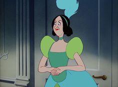 Disney Cartoons, Disney Movies, Disney Characters, Fictional Characters, Drizella Tremaine, Cinderella Cartoon, Anastasia And Drizella, Fancy Dress Ball, Pumpkin Carriage