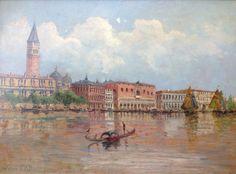 """""""Venice""""   - Edward Albert Douglas WATSON (1920-1972) - australian painter"""