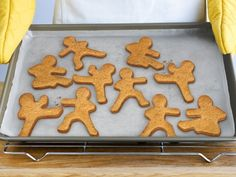 """Ninja Men Cookie Cutters: """"Karate chop!  Down, you drop.      Comes with 3 cookie cutters,  The ninja quietly mutters.      Bake with power!  Use butter and flour!"""""""
