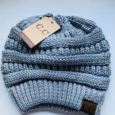 c12be42b2cc42f Listed on Depop by samantham1225. Knitted HatsWinter ...