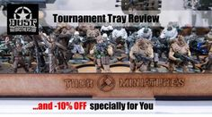 Tournament Tray by ThorMiniatures - Unboxing, Review and Christmas Promo :) / Unboxing, Recenzja i Bonus Świąteczny #dust1947 #dustbrothers #Xmaspromo #review #tournamenttray #thorminiatures