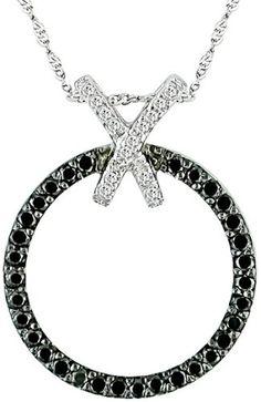 14k White Gold Black and White Diamond Circle Pendant (1/3 cttw) Amazon.com Collection,http://www.amazon.com/dp/B000R4HFZW/ref=cm_sw_r_pi_dp_YT7-rb1PZHGGTFVG