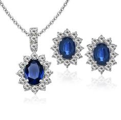 Duchess Of Windsor Jewels | Duchess of Windsor - Sapphire Collection - Jewelry by Diamond Styles