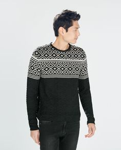 ZARA - SALE - JACQUARD SWEATER