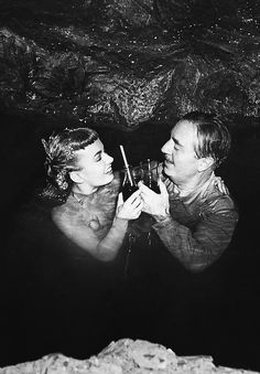 Ann Blyth and William Powell in Mr. Peabody and the Mermaid (1948)