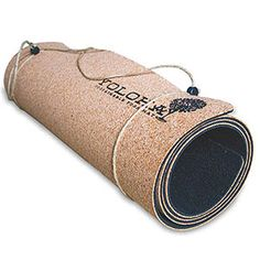 If your typical pad leaves you slipping and sliding as soon as things get sweaty, swap it out for a Yoloha Cork yoga mat.
