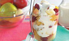 Mais sabor para sua tarde só com o #Iogurte da TopTherm - prepare sua #SaladaDeFrutas e venha curtir as novidades do Programa Mulheres ;)