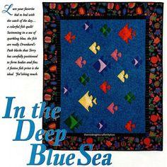 Traditional Twist Quilt Pattern Pieced DZ