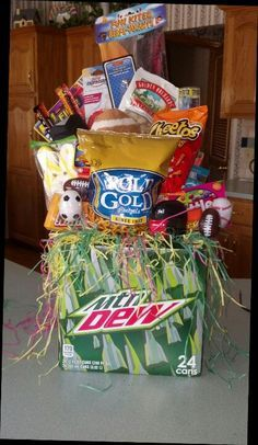 Easter basket for a boyfriend gift ideas pinterest easter boyfriend easter basket husband negle Image collections