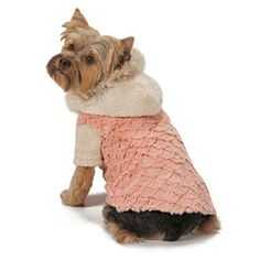 Elements Warm Faux Fur Stylish Jacket For Dogs Available... * See this great product.(It is Amazon affiliate link) #commentall