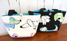 Dachshund tote Girls handbag dog purse for by RobynFayeDesigns