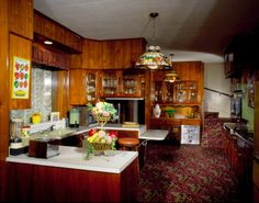 Kitchen at Elvis Presley's Graceland