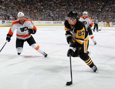 Pittsburgh, PA: It was a hockey night in Pittsburgh that did not disappoint, with Philadelphia overpowering playoff-bound Pittsburgh. Sidney Crosby, Latest Sports News, Flyers, Nhl, Penguins, Amber, Ruffles, Penguin, Ivy