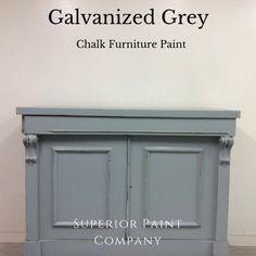 Galvanized Grey Modern Farmhouse, Farmhouse Decor, Paint Companies, Chalk Paint Furniture, The Fresh, Barn Wood, Cool Stuff, Grey, Outdoor Decor