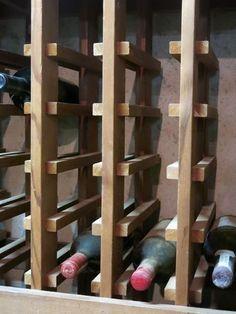 lattice wine rack plans - by buck_cpa @ LumberJocks.com ~ woodworking community #WoodworkingPlansWineRack #wineracks